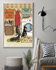 LAUNDRY DOBERMAN POSTER 11x17 Poster lifestyle-poster-1