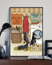 LAUNDRY DOBERMAN POSTER 11x17 Poster lifestyle-poster-2