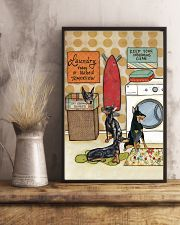 LAUNDRY DOBERMAN POSTER 11x17 Poster lifestyle-poster-3
