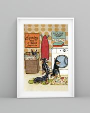 LAUNDRY DOBERMAN POSTER 11x17 Poster lifestyle-poster-5