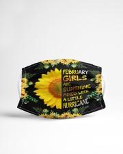 February Girls Cloth face mask aos-face-mask-lifestyle-22