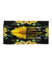 February Girls Cloth face mask front