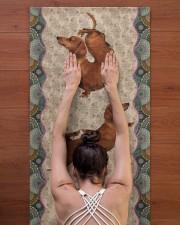 DACHSHUND - YOGA MAT Yoga Mat 24x70 (vertical) aos-yoga-mat-lifestyle-23