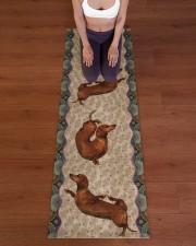DACHSHUND - YOGA MAT Yoga Mat 24x70 (vertical) aos-yoga-mat-lifestyle-24