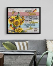 BUTTERFLY CANVAS - WHEN YOU BELIEVE 14x11 Black Floating Framed Canvas Prints aos-floating-framed-canvas-pgw-14x11-black-lifestyle-front-02