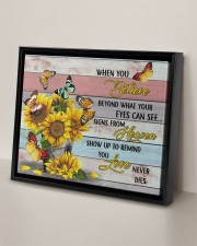BUTTERFLY CANVAS - WHEN YOU BELIEVE 14x11 Black Floating Framed Canvas Prints aos-floating-framed-canvas-pgw-14x11-black-lifestyle-front-06