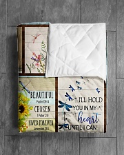 """DRAGONFLY QUILT Quilt 50""""x60"""" - Throw aos-quilt-50x60-lifestyle-closeup-front-04"""