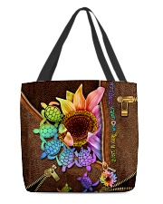 TURTLE SUNFLOWER BAG All-over Tote back