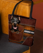 DOBERMAN MAMA CLOTH BAG All-over Tote aos-all-over-tote-lifestyle-front-02