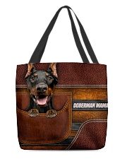 DOBERMAN MAMA CLOTH BAG All-over Tote front