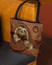 SLOTH BAG-ACCESSORY POUCH-PILLOW All-over Tote aos-all-over-tote-lifestyle-front-02