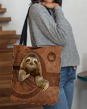 SLOTH BAG-ACCESSORY POUCH-PILLOW All-over Tote aos-all-over-tote-lifestyle-front-09