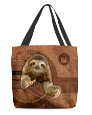 SLOTH BAG-ACCESSORY POUCH-PILLOW All-over Tote front