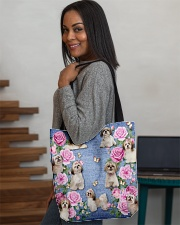SHIHTZU AND FLOWER BAG All-over Tote aos-all-over-tote-lifestyle-front-08