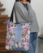SHIHTZU AND FLOWER BAG All-over Tote aos-all-over-tote-lifestyle-front-09