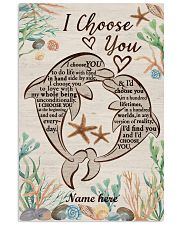 I Choose You Custom dolphin poster 11x17 Poster front