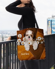 SHIH-TZU BAG-ACCESSORY POUCH-PILLOW All-over Tote aos-all-over-tote-lifestyle-front-05
