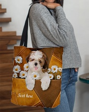 SHIH-TZU BAG-ACCESSORY POUCH-PILLOW All-over Tote aos-all-over-tote-lifestyle-front-09