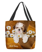 SHIH-TZU BAG-ACCESSORY POUCH-PILLOW All-over Tote front