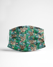 Yorkshire Terrier Cloth face mask aos-face-mask-lifestyle-22