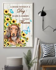 DACHSHUND - A HOUSE WITHOUT A DOG IS 11x17 Poster lifestyle-poster-1