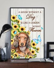 DACHSHUND - A HOUSE WITHOUT A DOG IS 11x17 Poster lifestyle-poster-2