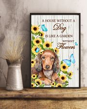 DACHSHUND - A HOUSE WITHOUT A DOG IS 11x17 Poster lifestyle-poster-3