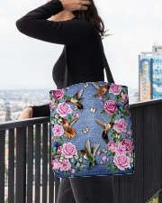 HUMMINGBIRD BAG All-over Tote aos-all-over-tote-lifestyle-front-05