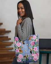 HUMMINGBIRD BAG All-over Tote aos-all-over-tote-lifestyle-front-08