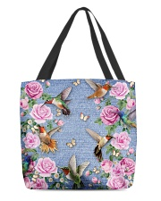 HUMMINGBIRD BAG All-over Tote front