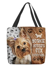 YORKIE KISSES FIX EVERYTHING BAG All-over Tote back