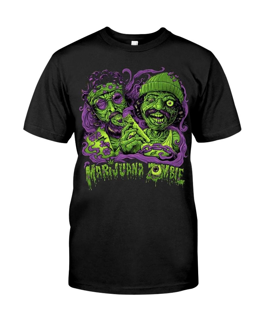 Marijuana Zombie T-shirt Classic T-Shirt