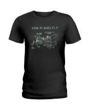 How Planes Fly Funny Aerospace Engineer Pilot T Sh Ladies T-Shirt thumbnail