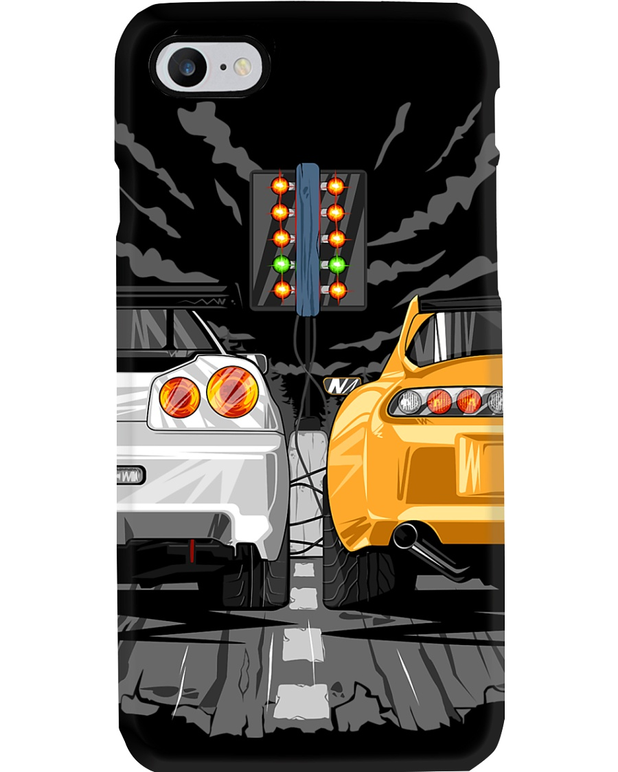 R34 vs JZA80 Phone Case