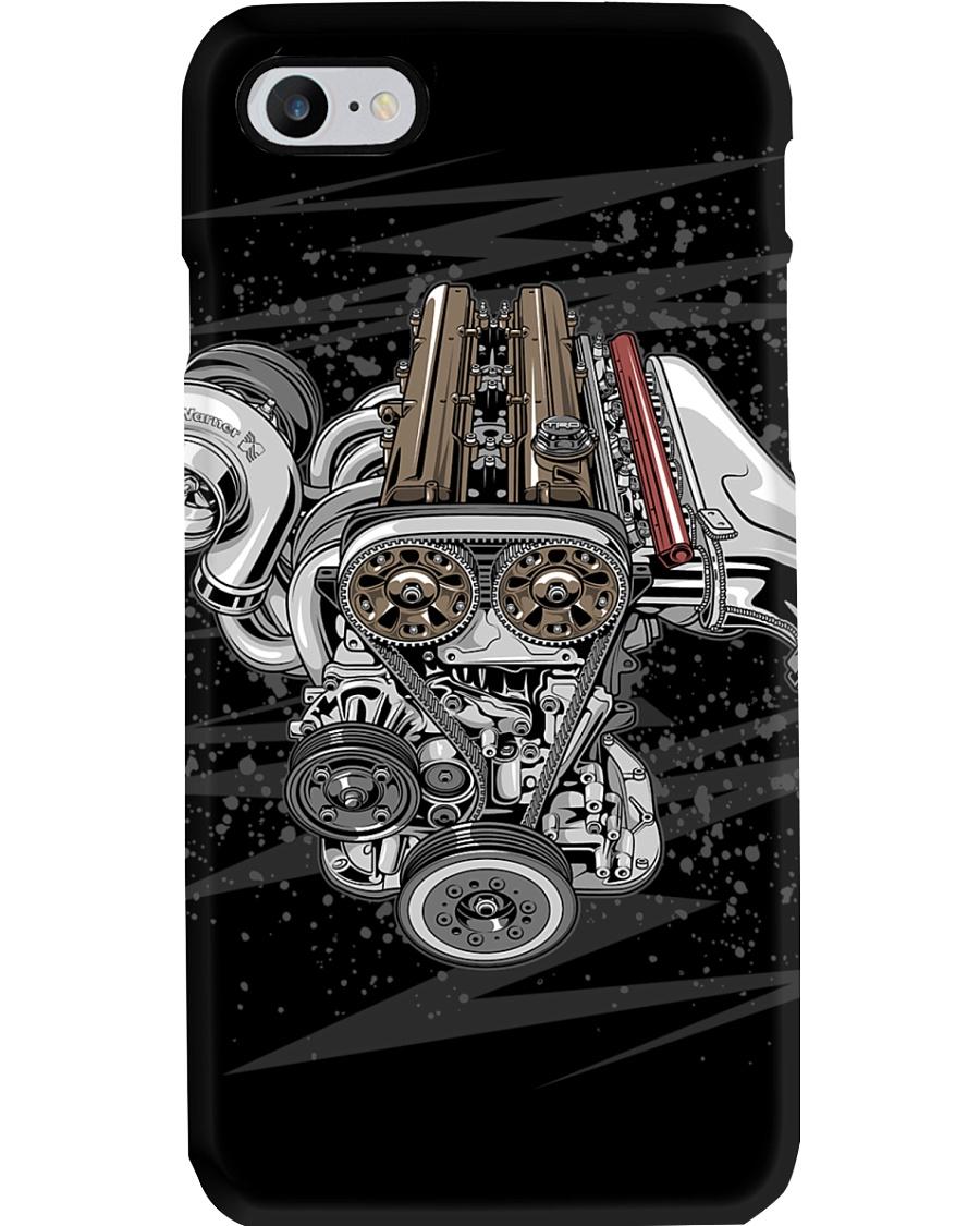 2JZ-GTE Engine Phone Case