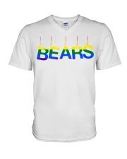 bears V-Neck T-Shirt thumbnail