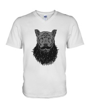 beardedbear V-Neck T-Shirt thumbnail