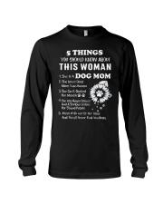 5 Things Dog Mom Long Sleeve Tee thumbnail