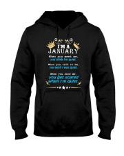 I'm A January Hooded Sweatshirt thumbnail