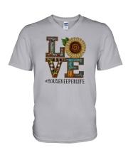 Housekeeper V-Neck T-Shirt thumbnail