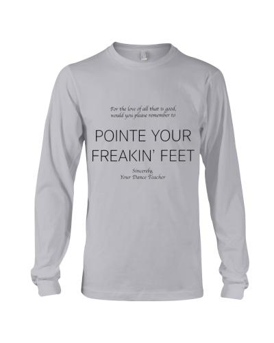 Dance Teacher Pointe Your Freakin Feet
