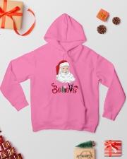 Santa B Hooded Sweatshirt lifestyle-holiday-hoodie-front-2