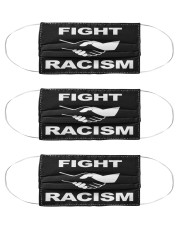 Fight Racism Shirt Face Mask Cloth Face Mask - 3 Pack front