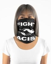 Fight Racism Shirt Neck Gaiter Neck Gaiter aos-neck-gaiter-lifestyle-11