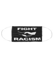 Face Mask Fight Racism Shirt Cloth face mask aos-face-mask-coverlet-lifestyle-front-01