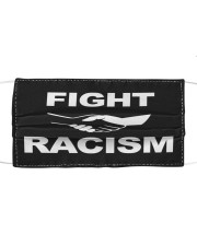 Face Mask Fight Racism Shirt Cloth face mask front