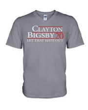 Clayton Bigsby V-Neck T-Shirt thumbnail