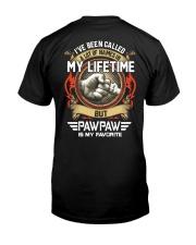 My Lifetime - Pawpaw Classic T-Shirt back
