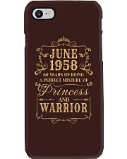 Warrior - 88 - 10 Phone Case thumbnail