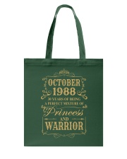 Warrior - 88 - 10 Tote Bag thumbnail